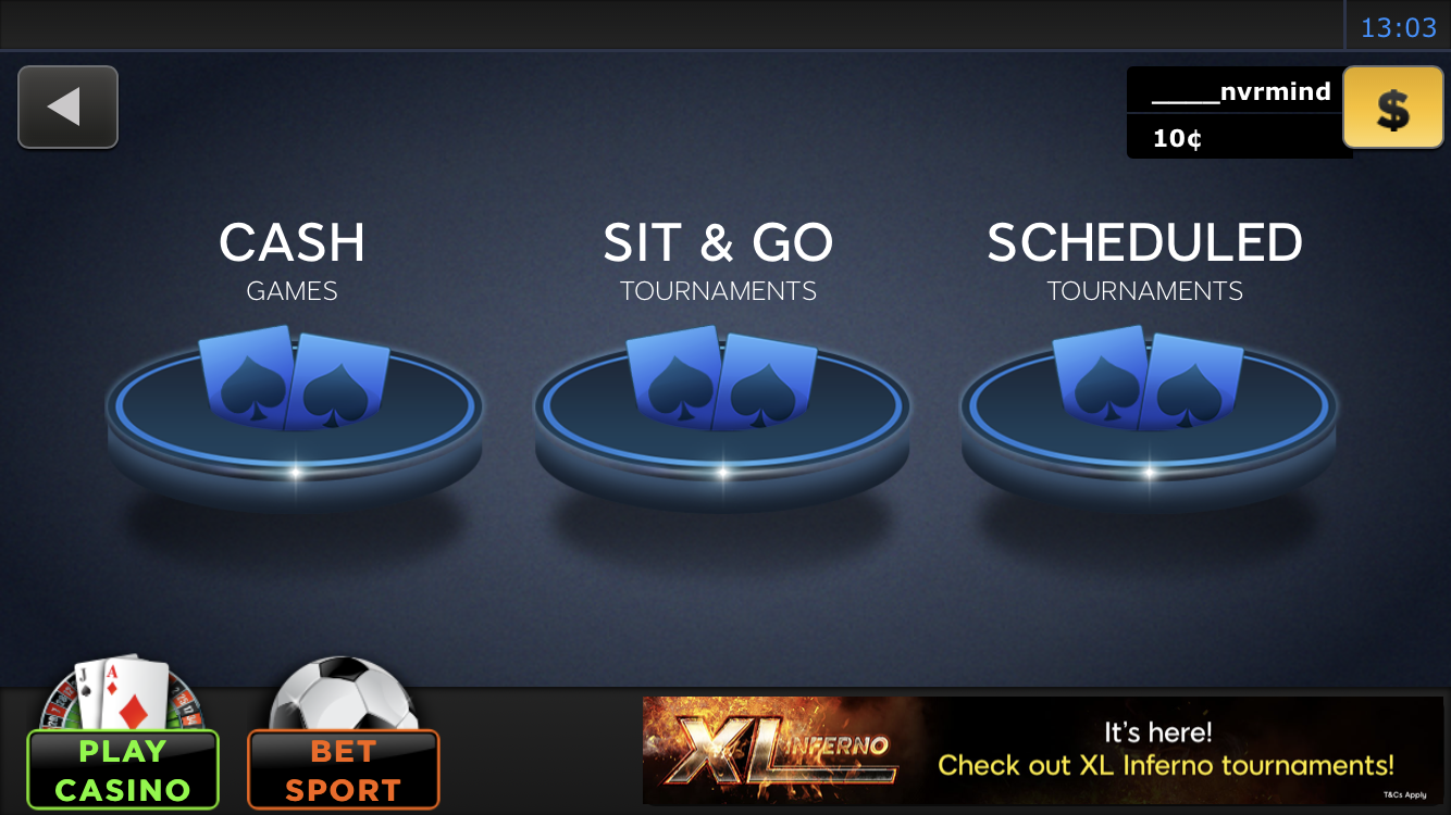 classic game modes 888poker