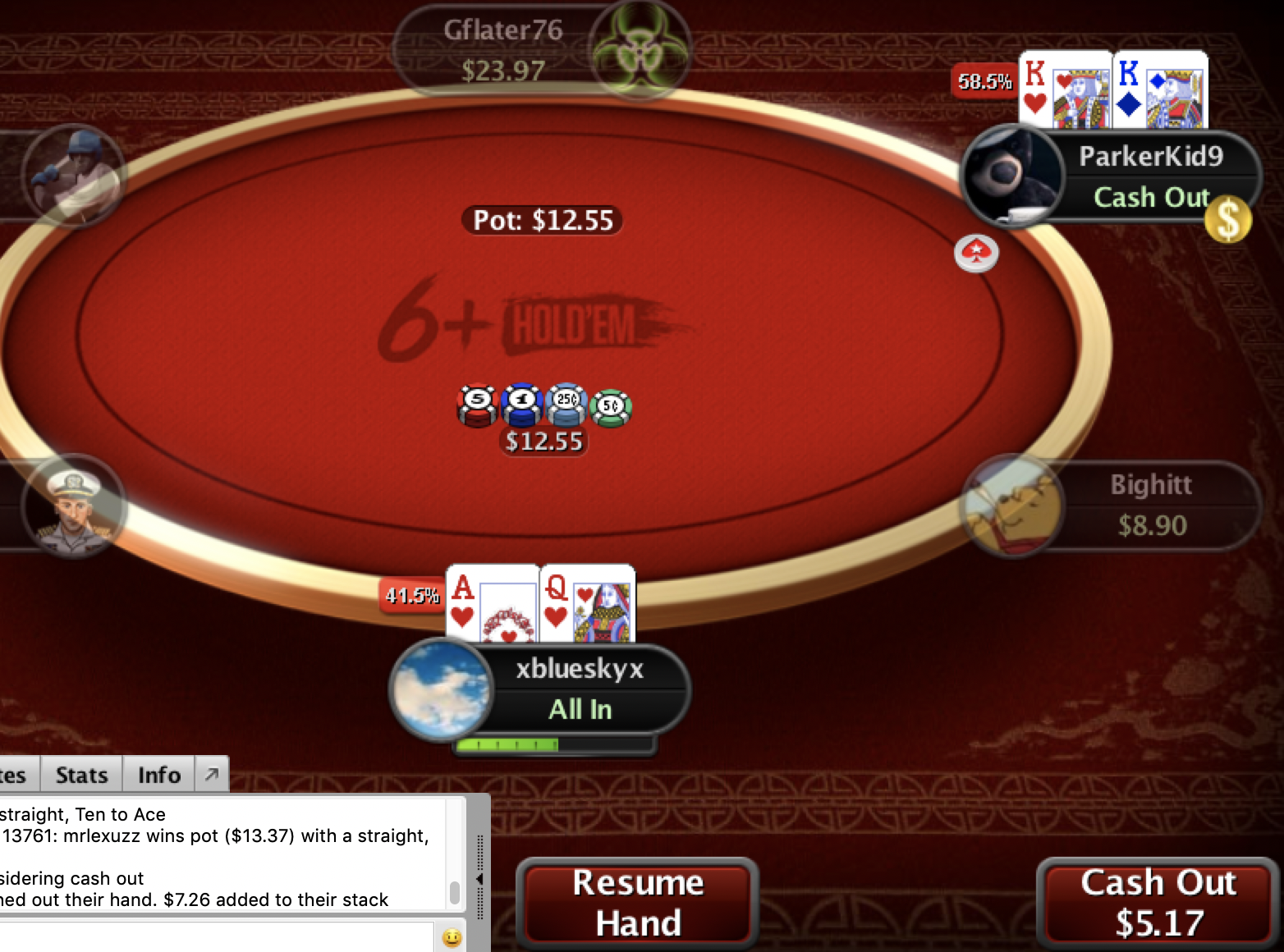 New PokerStars Feature: All in Cash Out - New Online Poker