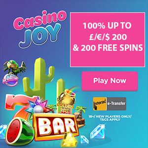 casino joy free spins bonus