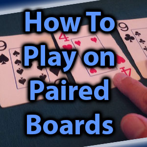 how to play on paired boards