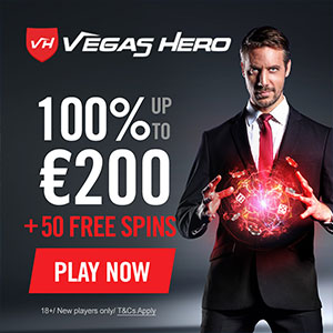 vegas hero free spins