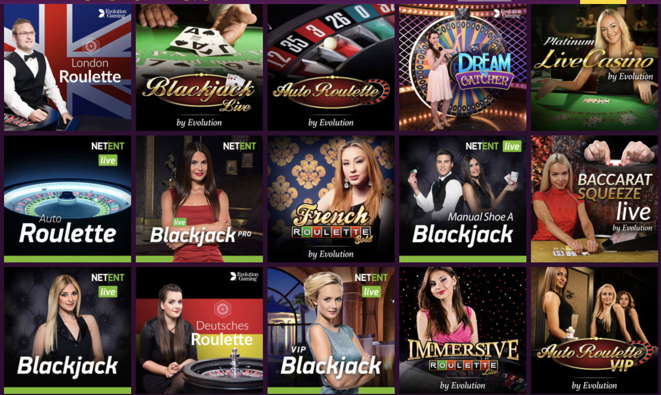 live dealers slots magic