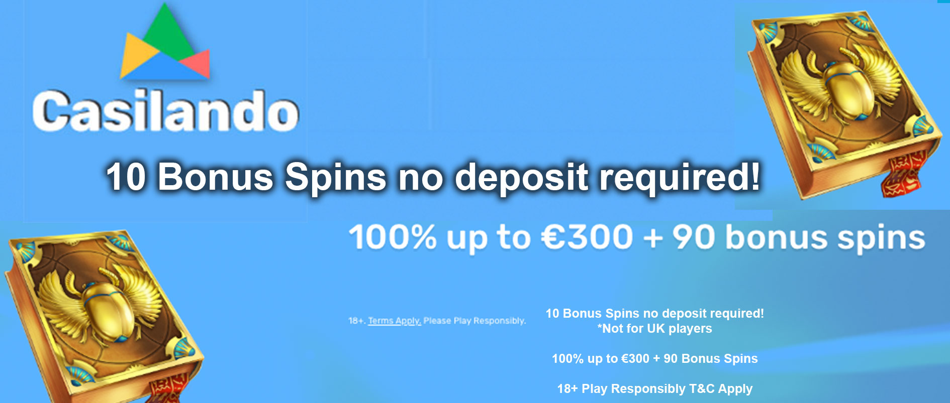 casilando free spins no deposit
