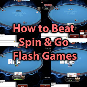 how to beat spin & go flash games
