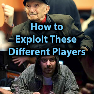 how to exploit these different players