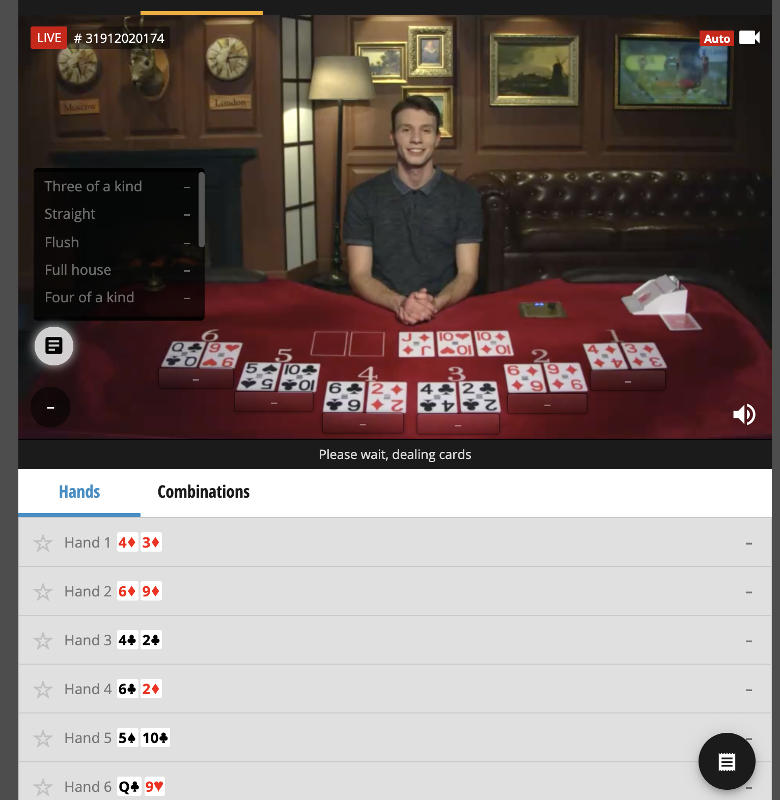 tony bet casino bet on poker hands