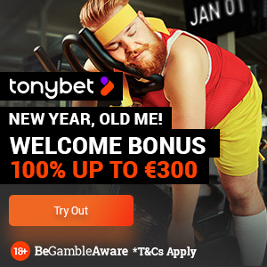 tony bet casino welcome offer