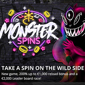 monster spins