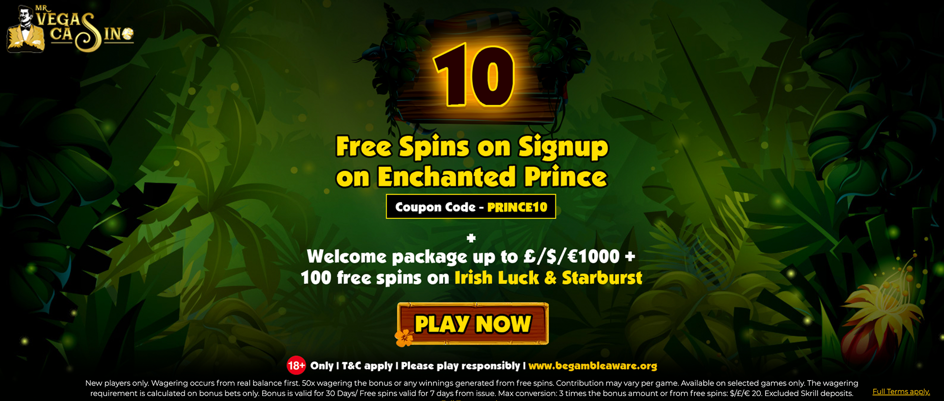 mr vegas casino free spins