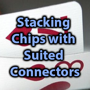 stacking chips with suited connectors