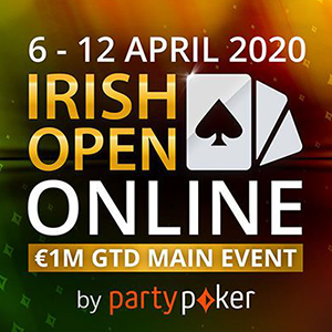 partypoker to host irish open online