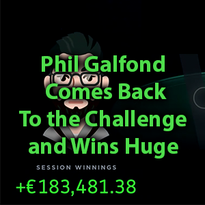 phil galfond comes back to the challenge and wins huge