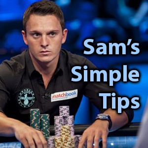 sam tricketts tips
