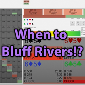 when to bluff rivers